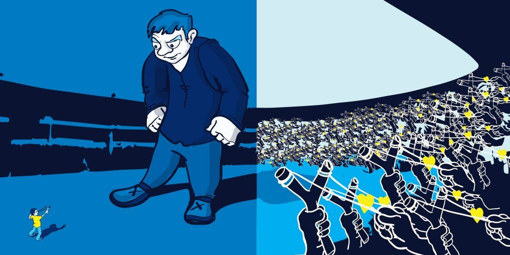 Lone Hero to Heroes Among Heroes, illustration by Iris Maertens